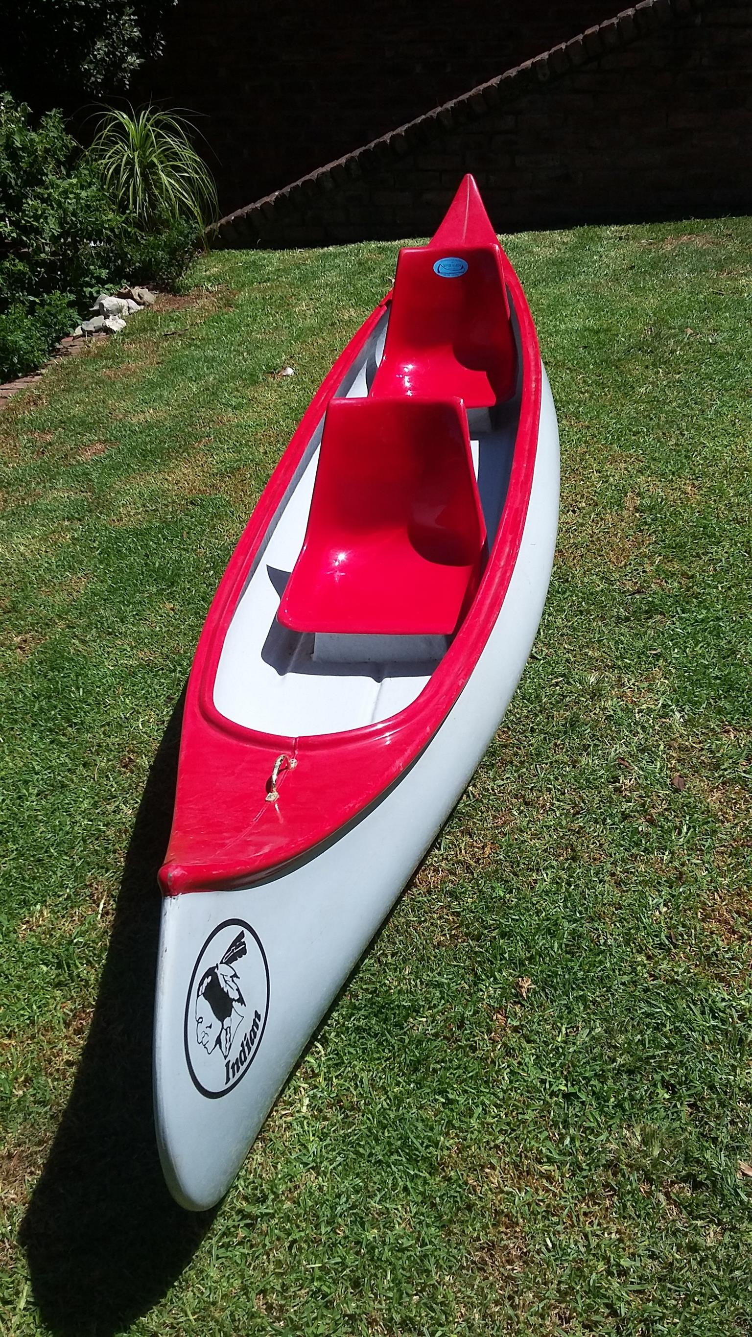 TWO SEATER INDIAN CANOE FOR SALE