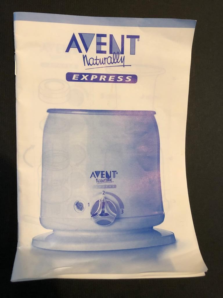 Avent Bottle warmer - perfect for the cold Winter days!