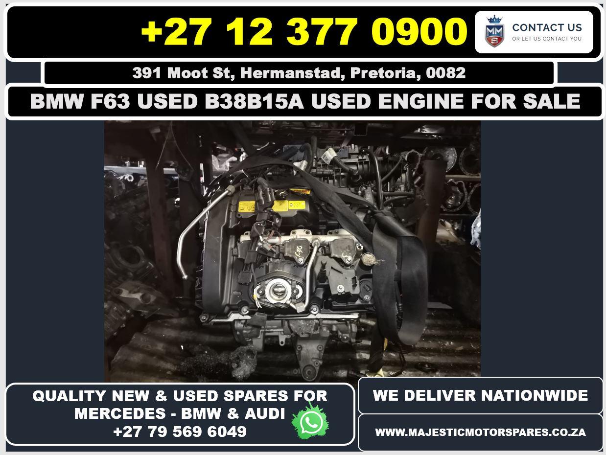 Bmw F63 used B38B15A engine for sale
