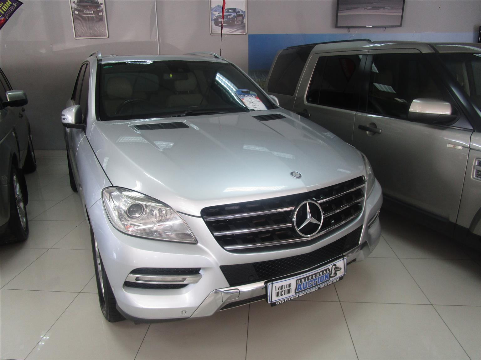2012 Mercedes Benz ML 250 BlueTec