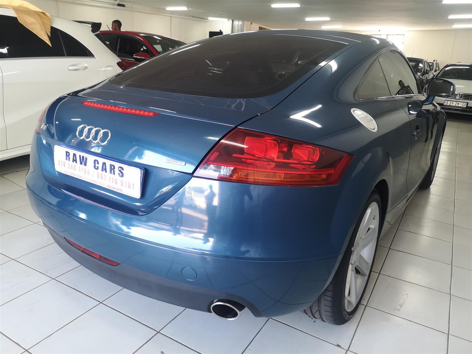 2007 Audi TT coupe coupe 2.0T quattro