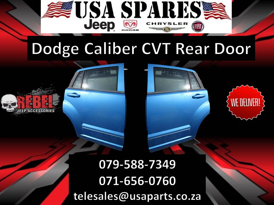 Dodge Caliber CVT Rear Door For Sale.