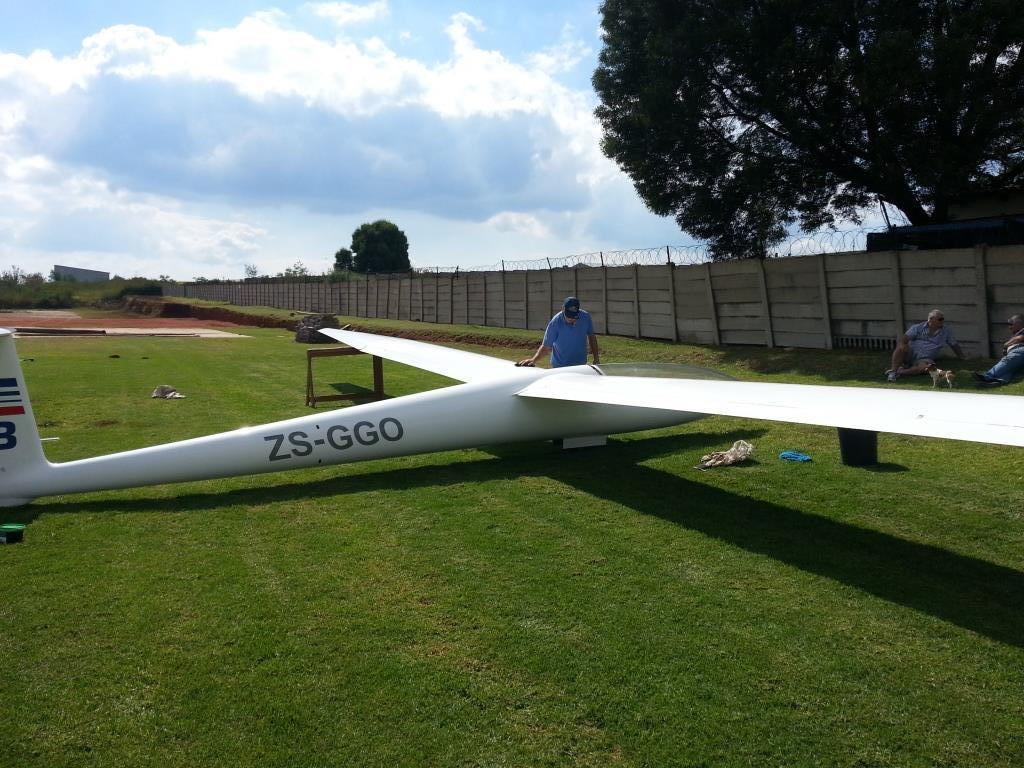 Diamant Glider with trailer for sale