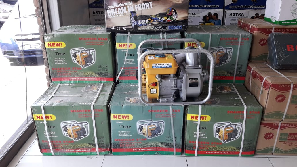 Auction for cars and generators and hardware