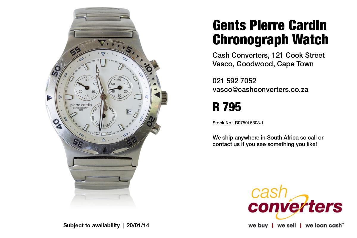 Gents Pierre Cardin Chronograph Watch