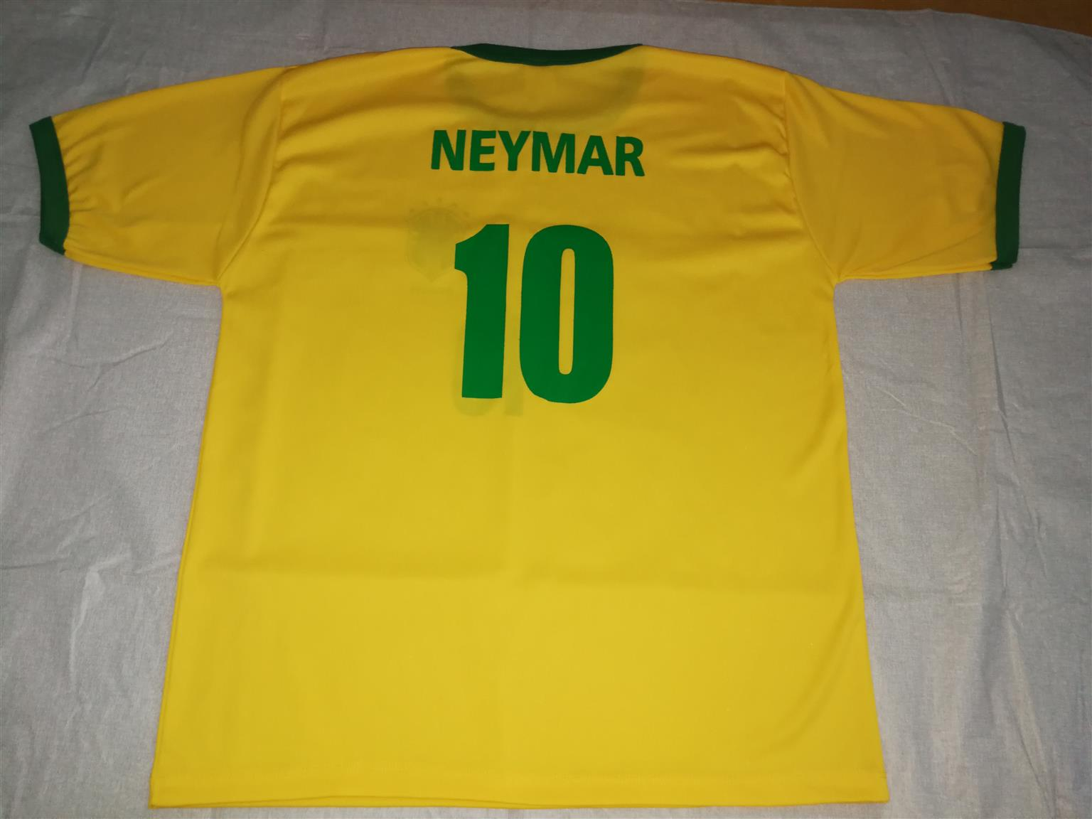 Neymar Brazil Football Shirt with Cap
