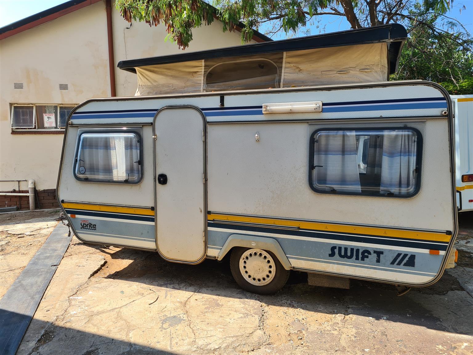 Sprite Swift caravan lightweight
