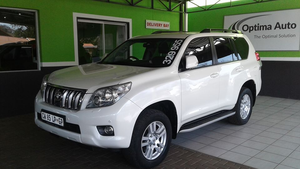 2010 Toyota Land Cruiser Prado 3.0DT VX