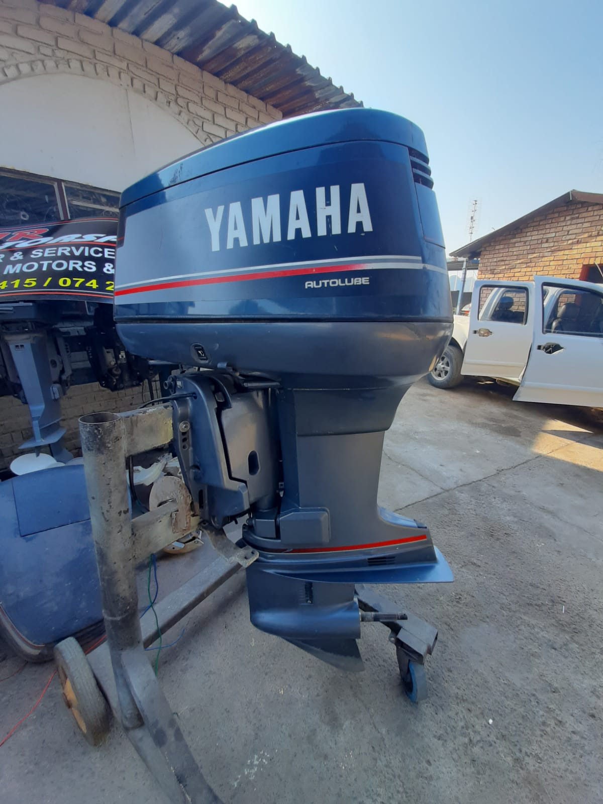 Yamaha 115 premix