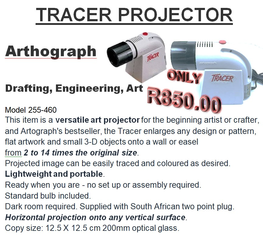 TRACER PROJECTOR Arthograph
