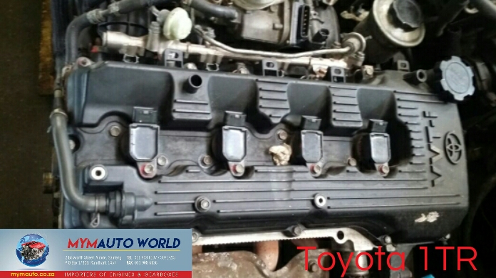 Imported used TOYOTA HILUX/QUANTUM 2.0L, 1TR engine Complete