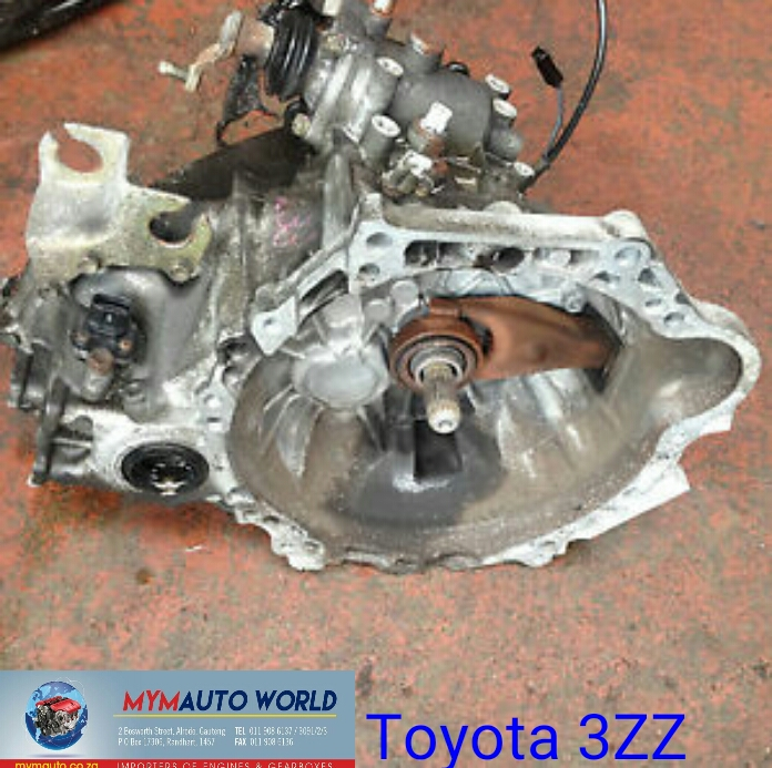 Imported used TOYOTA 3ZZ 5 SPEED MANUAL gearbox Complete