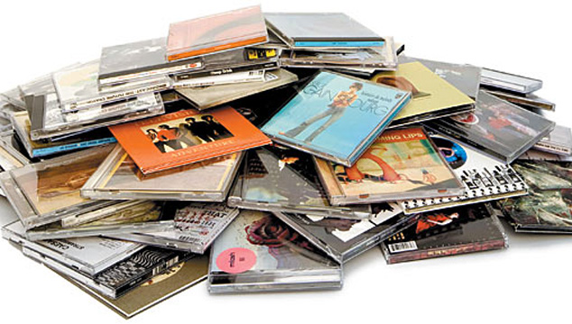 I buy Music CD collections