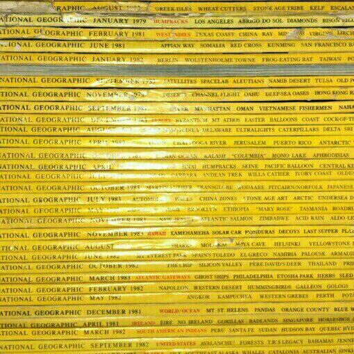 National Geographic Magazines for sale