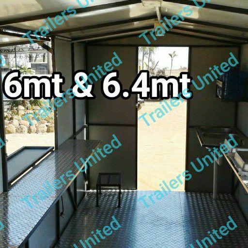 6.0MTR MOBILE KITCHEN food trailer!!