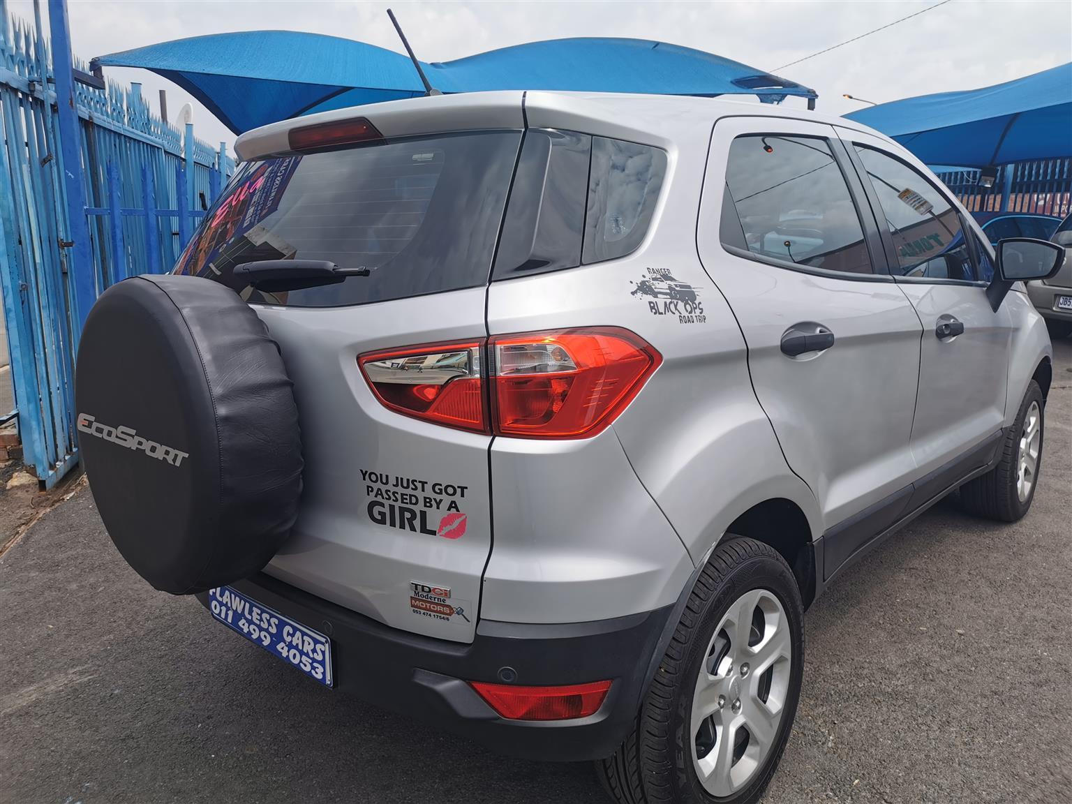 2018 Ford EcoSport 1.5TDCi Titanium