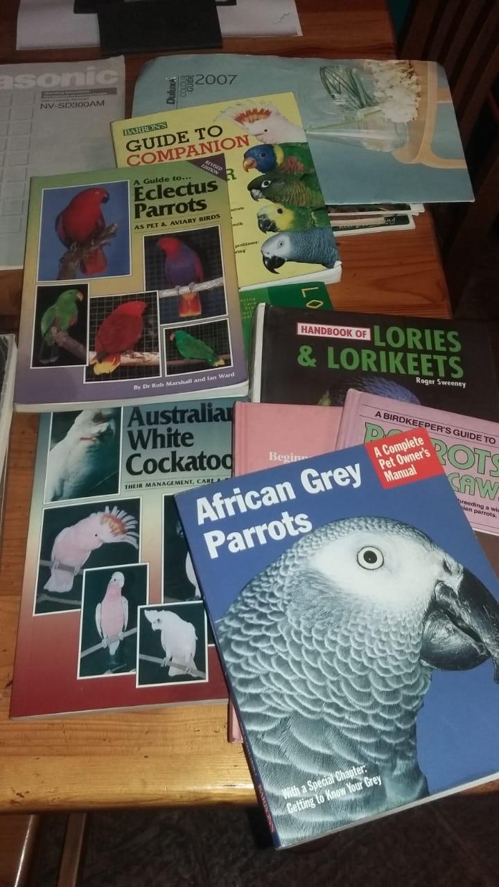 Parrot books.