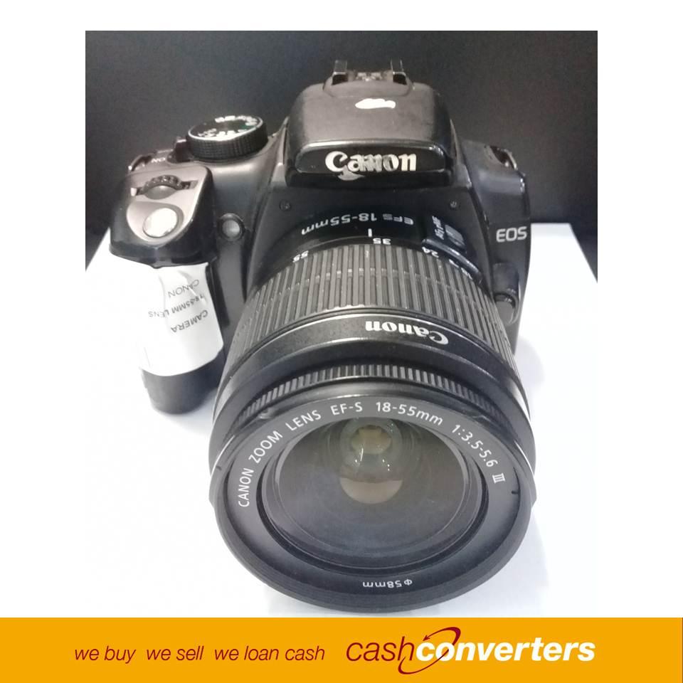 190038 Camera 18-55mm Lens Canon
