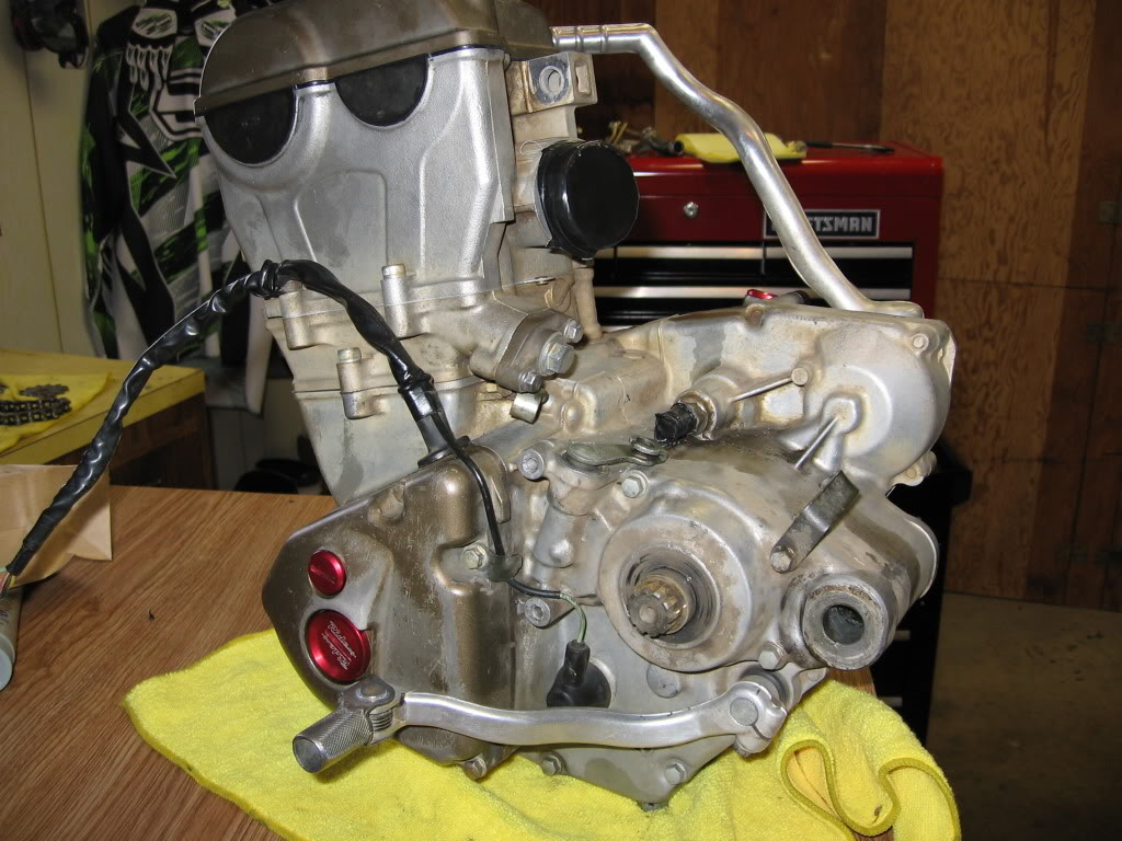 OFF-ROAD  BIKE MOTORS STRIPPING FOR SPARES