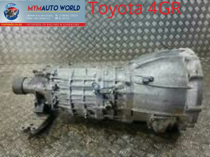 TOYOTA 4GR AUTOMATIC Complete gearbox