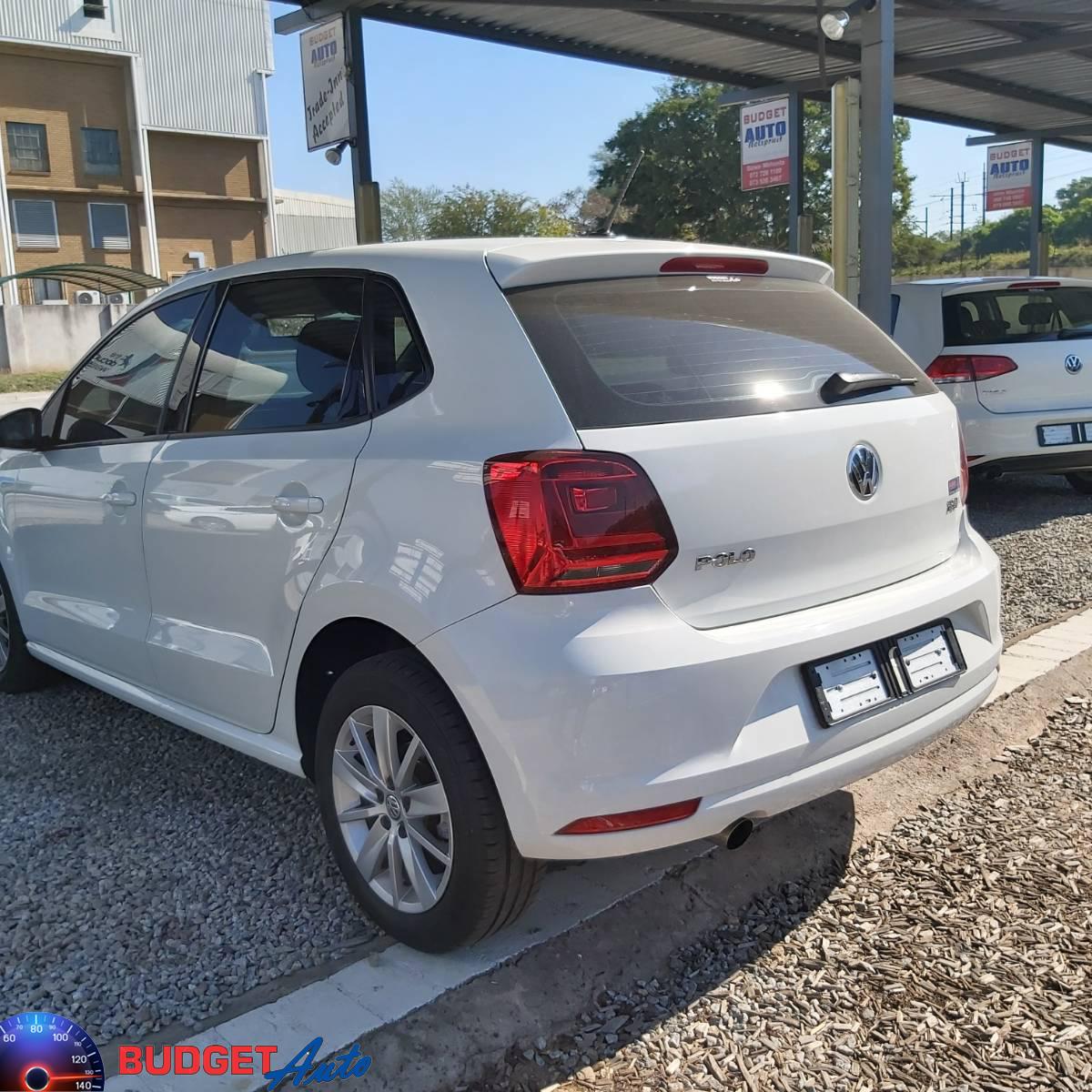 2016 VW Polo hatch 1.2TSI Comfortline