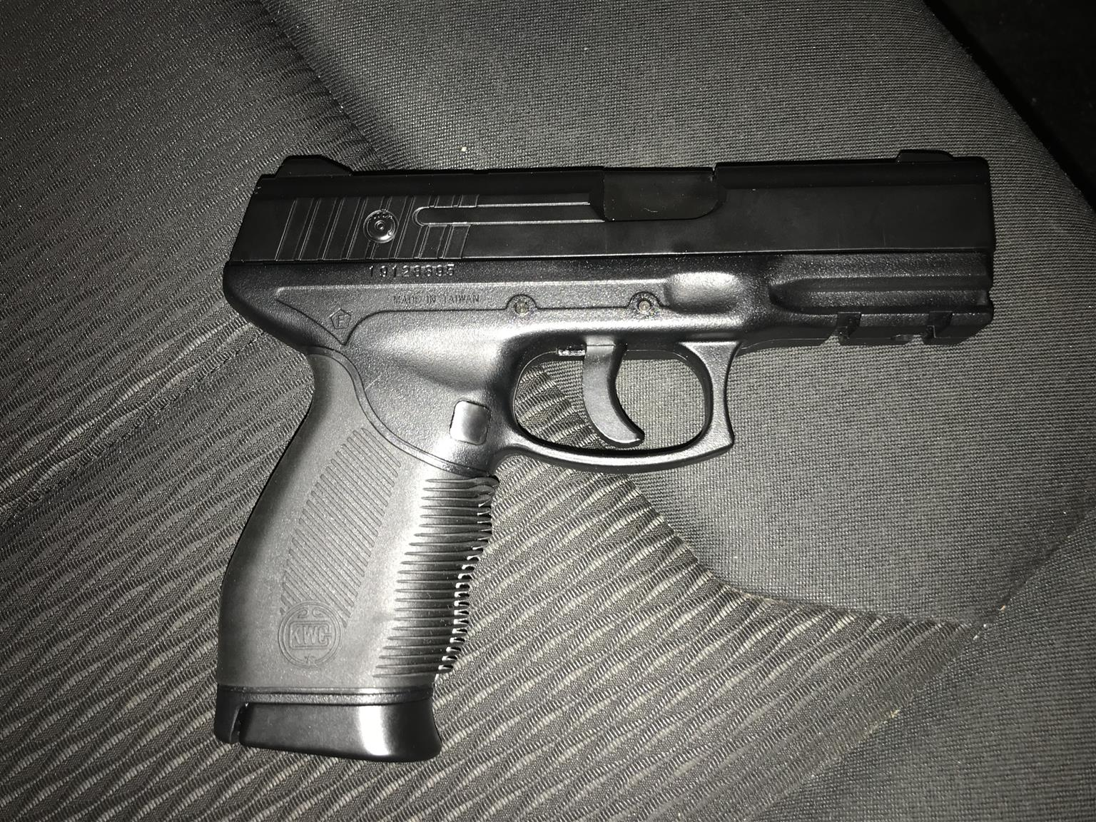 KWC gas pistol.
