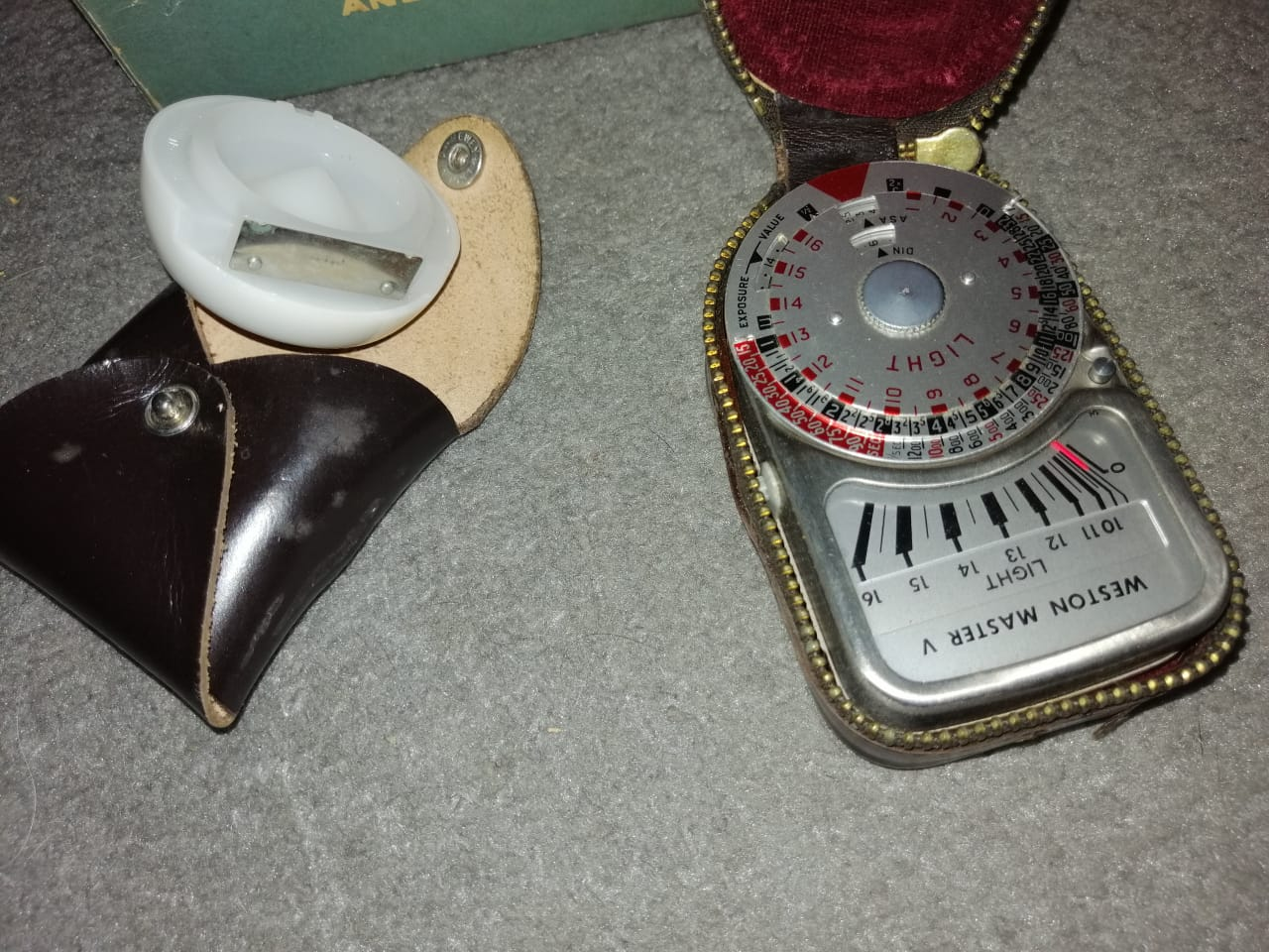 Exposure Meter - Weston Master V & Invercone