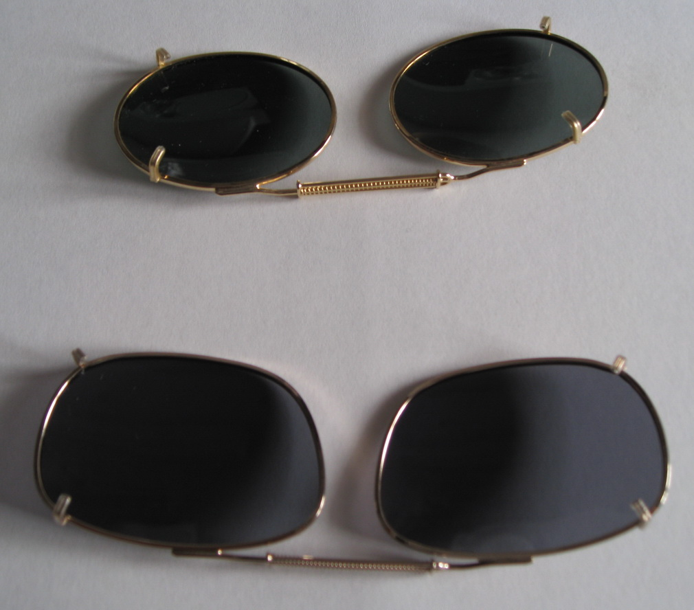 Sun glass clip ons