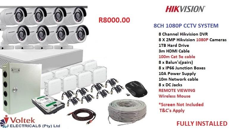 CCTV system installations