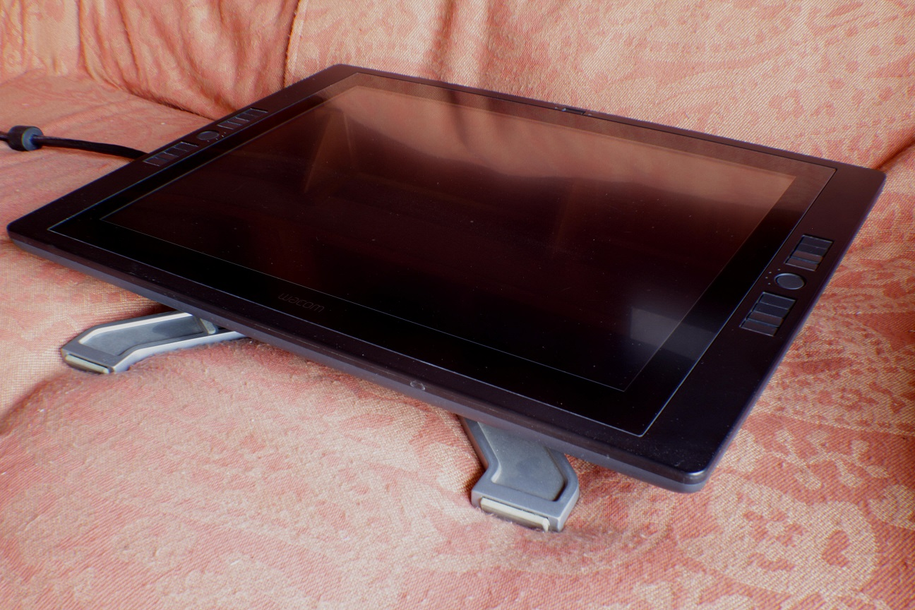 Used Wacom Cintiq 21UX Monitor. In excellent condition, like new.