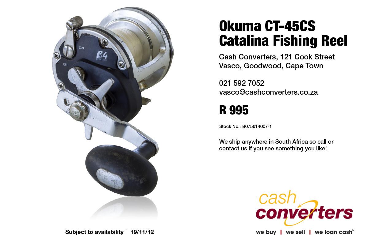 Okuma CT-45CS Catalina Fishing Reel