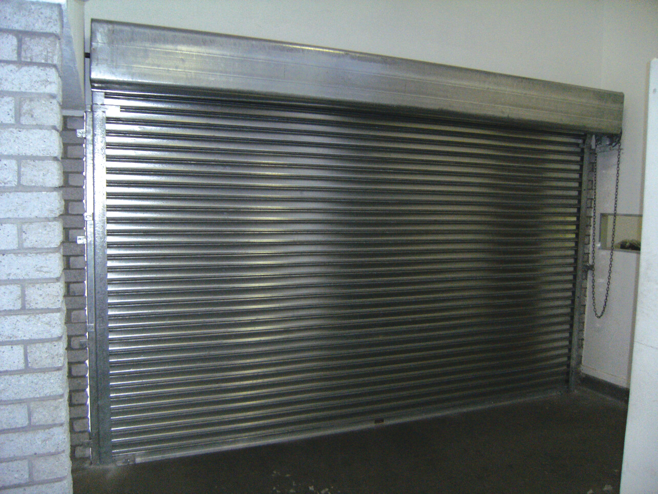 Electric Roller Shutter Door Junk Mail