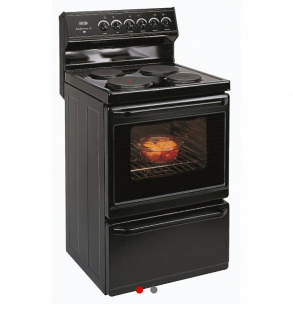 Defy Kitchenaire stove - Black