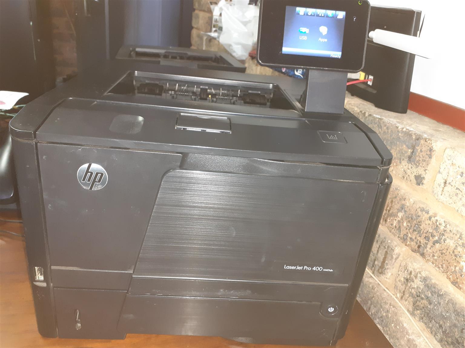HP LaserJet Pro 400 m401dn Printer