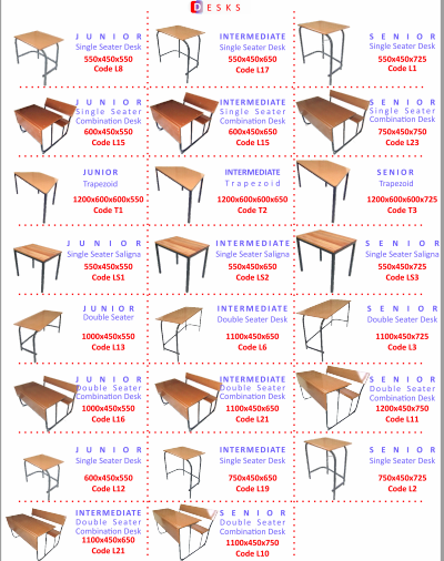SCHOOL & OFFICE FURNITURE