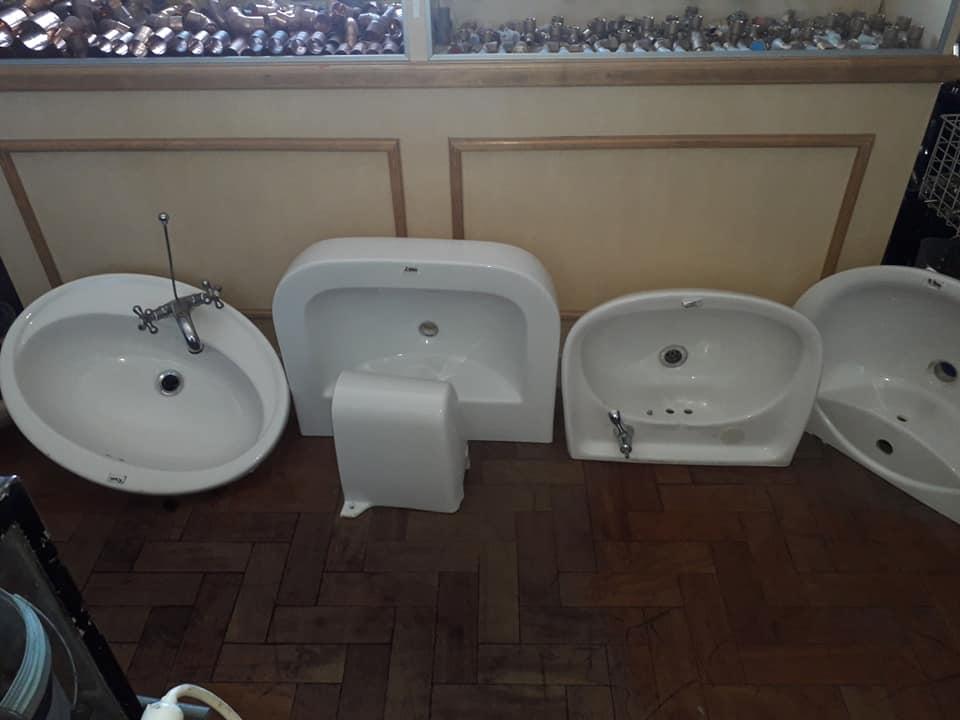 Various bathroom basins for sale
