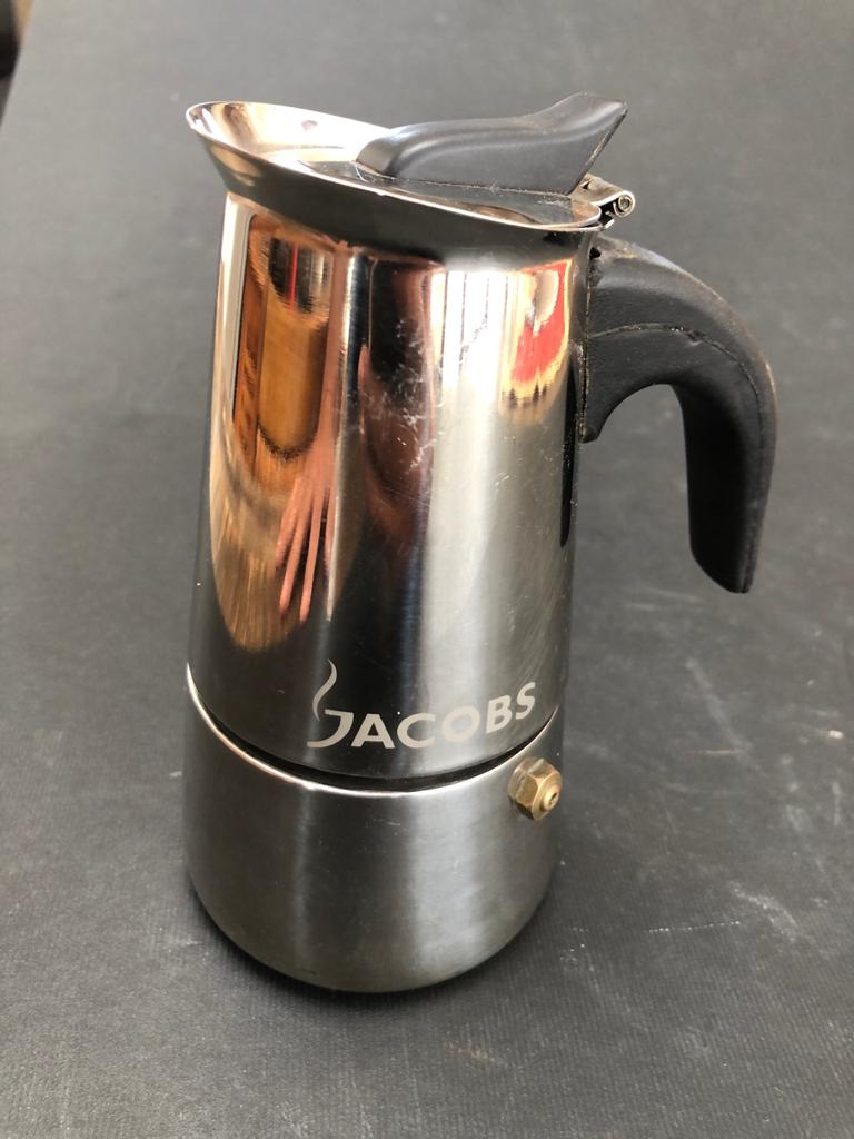 Jacobs Stove-top Stainless Steel Espresso maker - priced to clear