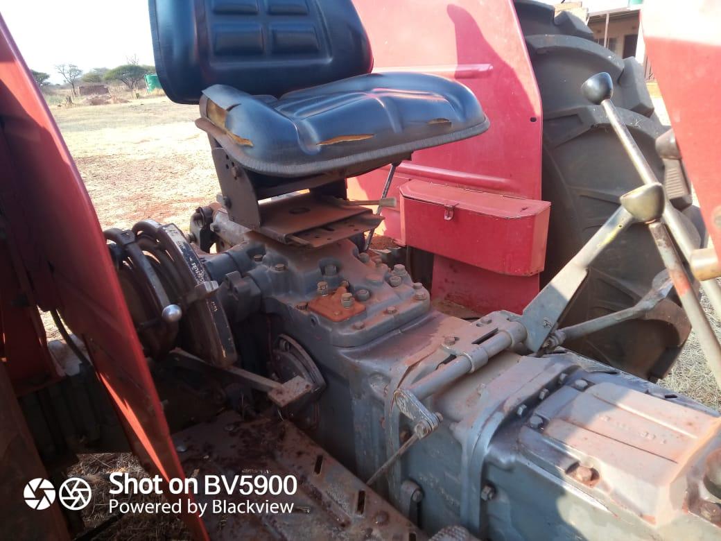 Maseferguson 290tractor with slasher