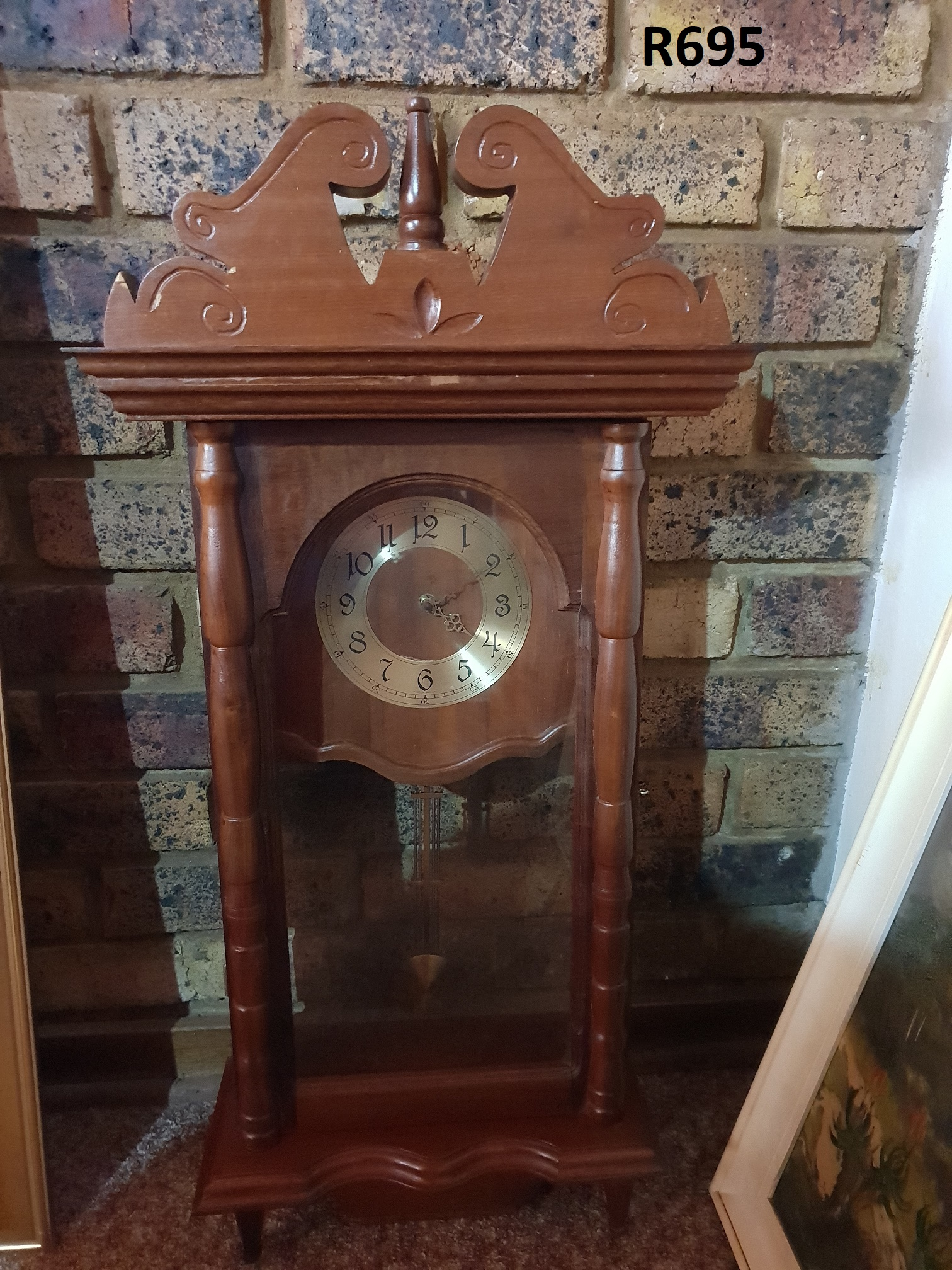 Grandmothers Wall Clock 400x190x830 Junk Mail