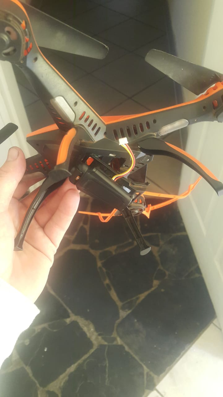 Drone to swap