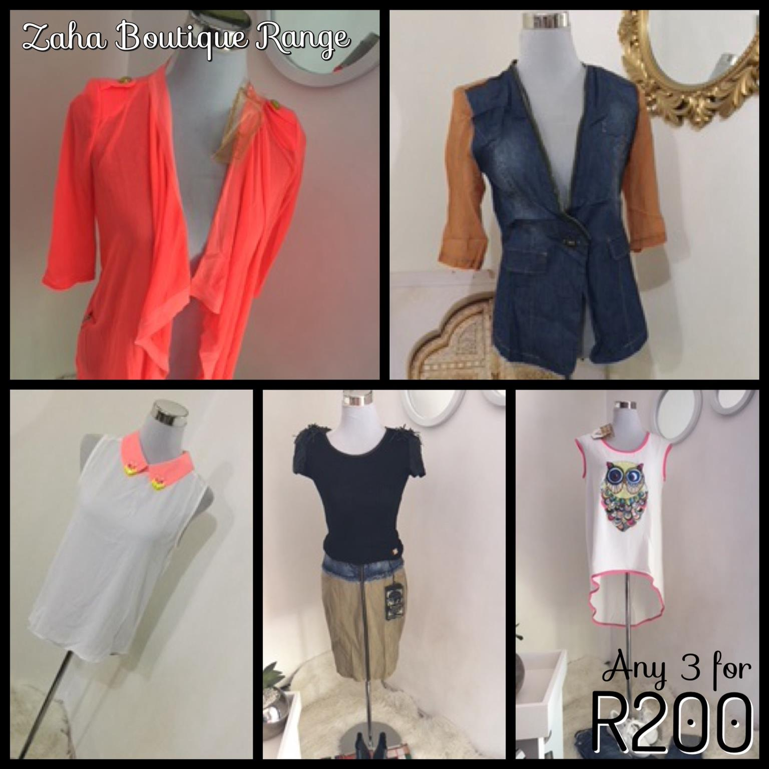 ZahaSpring collection   Brand new clothes on SALE Now