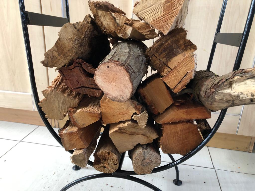 Large Ornate and classical styled Firewood Holder - Woodhold - Winter is here!