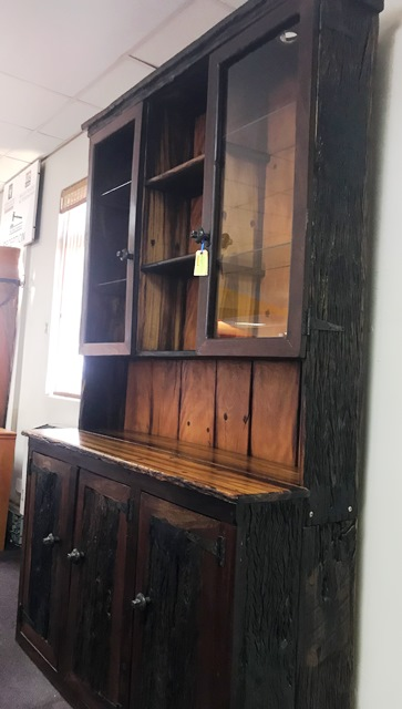 Sleeper Wood Wall Unit