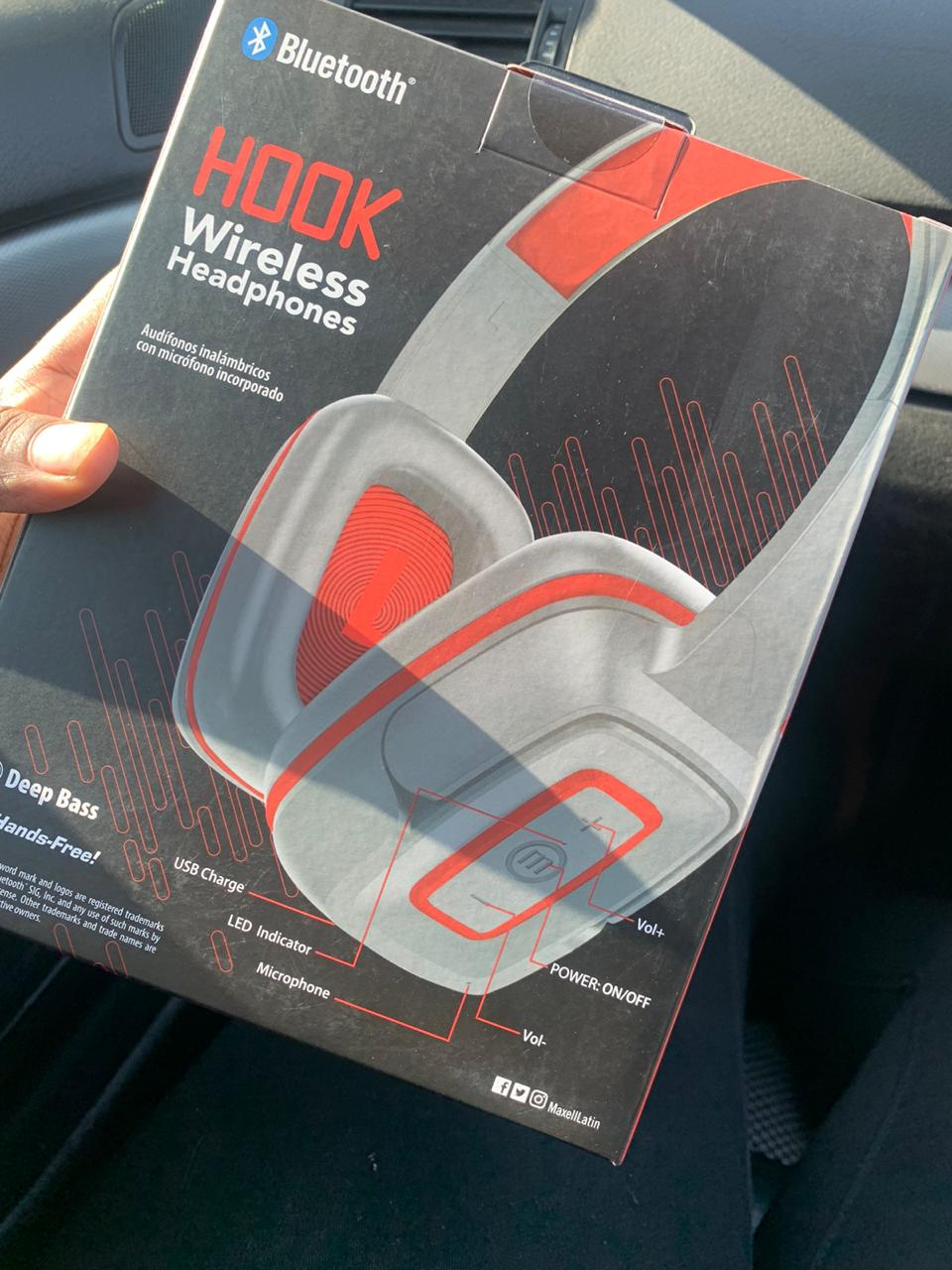 Maxell bluetooth headset