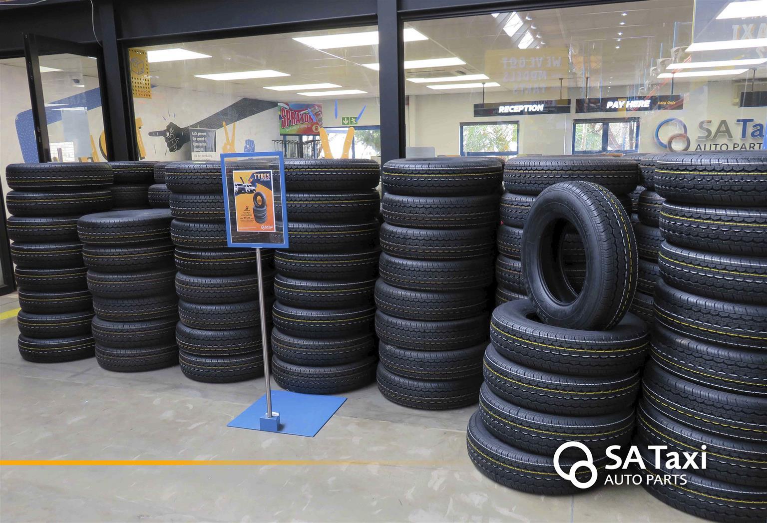 Bridgestone 613V 195/R15C Taxi Tyre - SA Taxi Auto Parts
