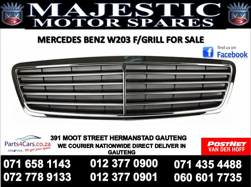 Mercedes benz W203 bumper grill for sale