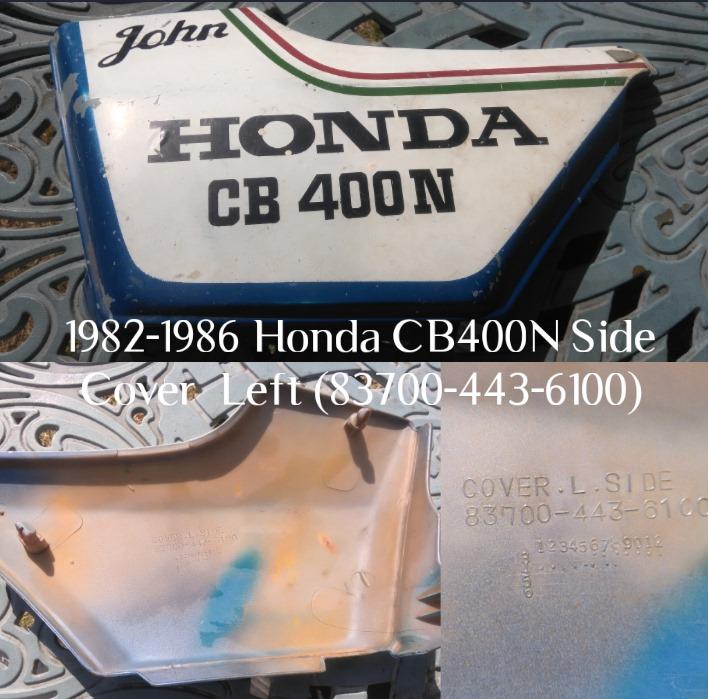 Honda CB 400N Side Cover Left