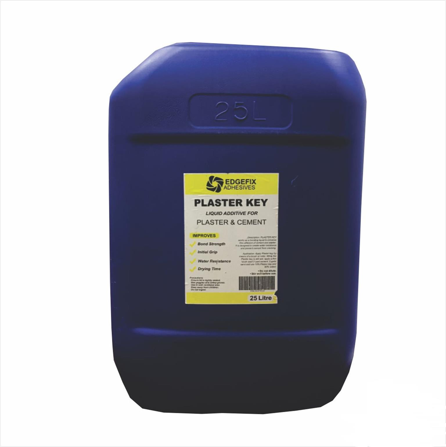 Edgefix Adhesive Plaster Key 25 Litre