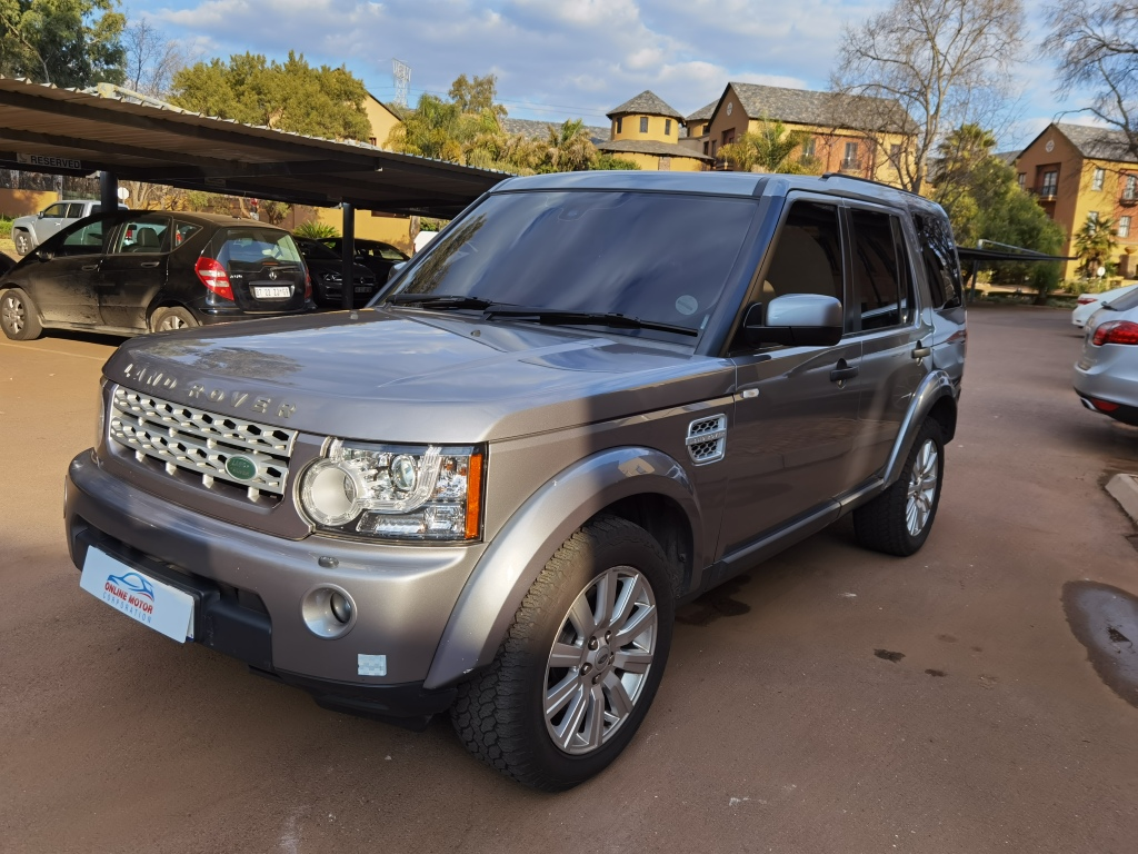 2013 Land Rover Discovery 4 3.0TDV6 S