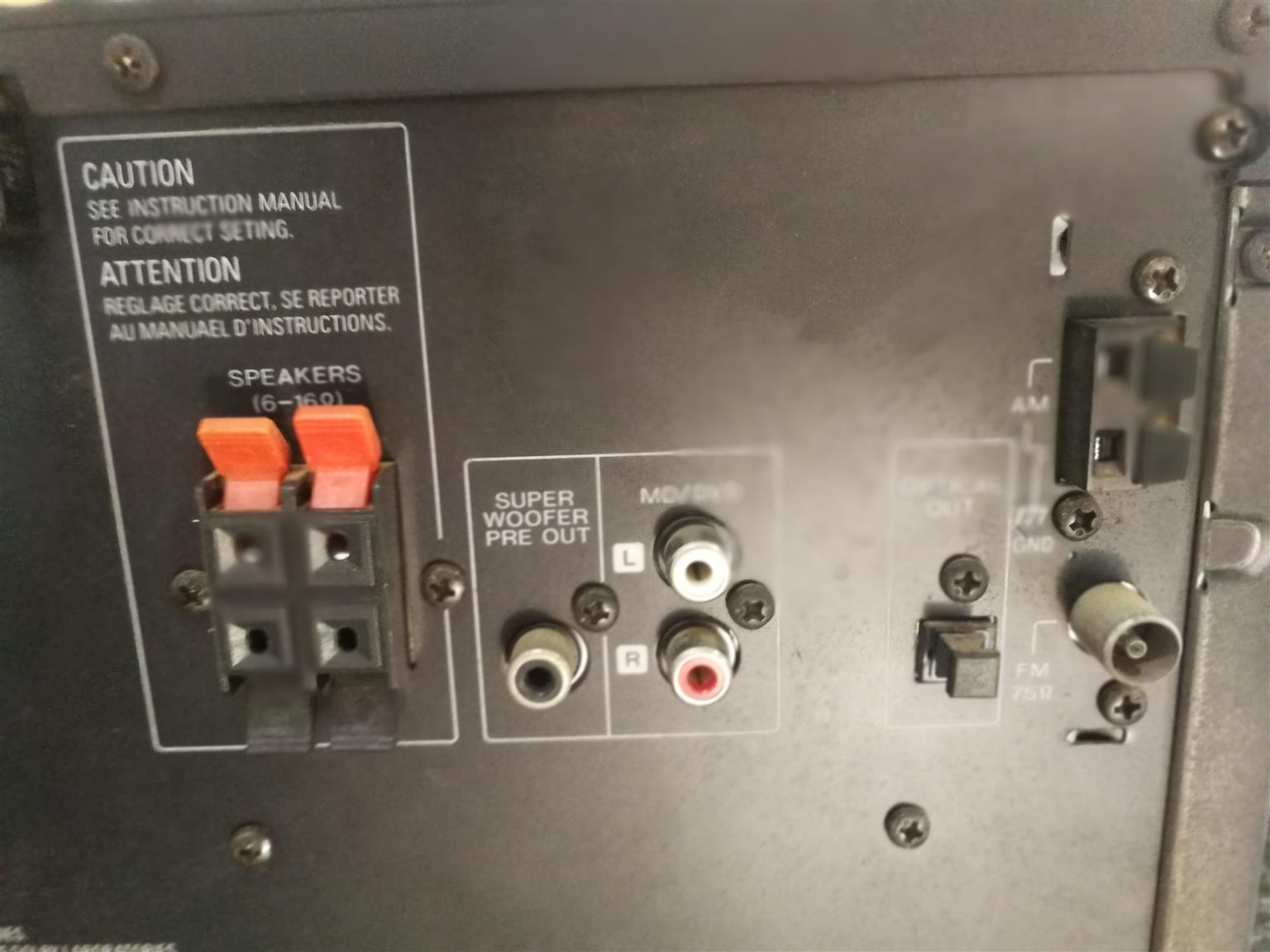 Powerful Kenwood Hifi System